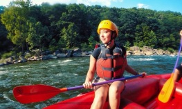 Myself on my Rafting Adventure in Ohiopyle