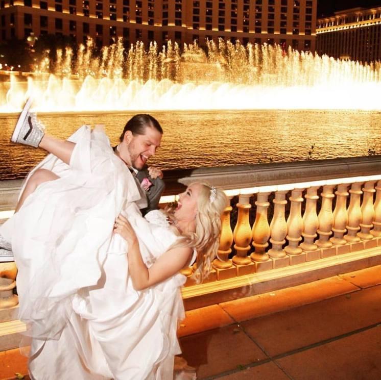 wedding photos of Doug + I. Taken by John Bair