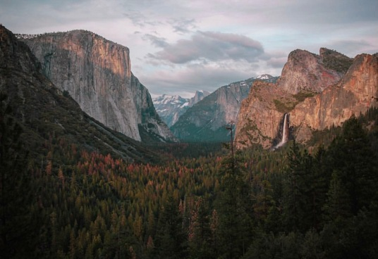 Tunnel View. Photo by: Doug Michaels
